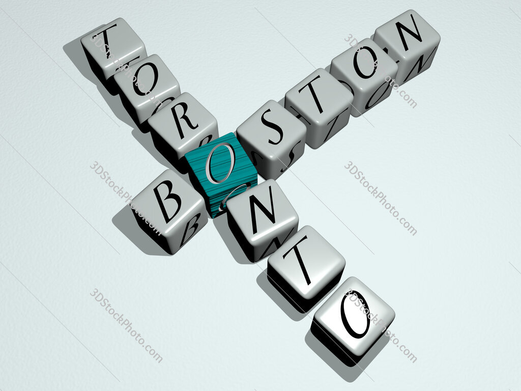 boston toronto crossword by cubic dice letters