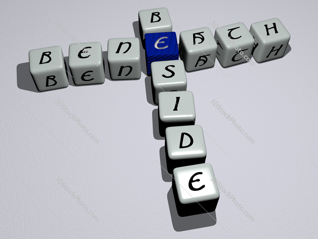 beneath beside crossword by cubic dice letters