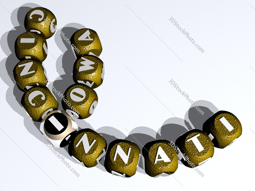 iowa cincinnati curved crossword of cubic dice letters