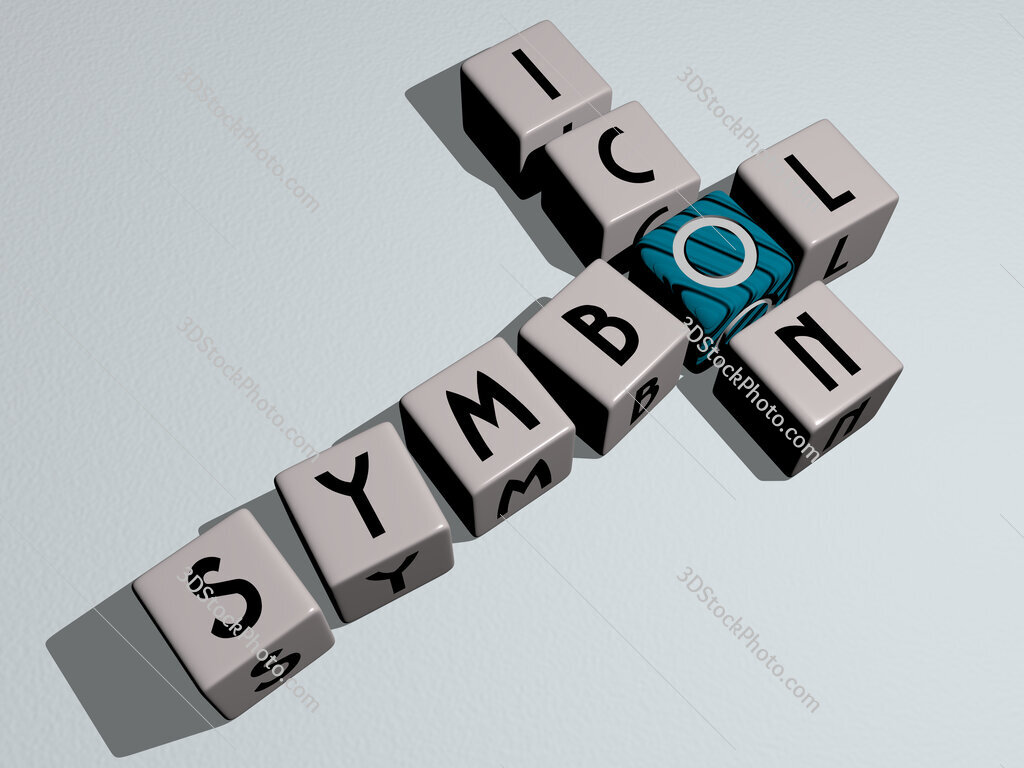 symbol icon crossword by cubic dice letters