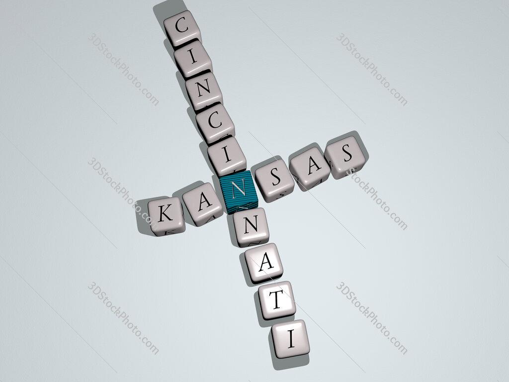 kansas cincinnati crossword by cubic dice letters