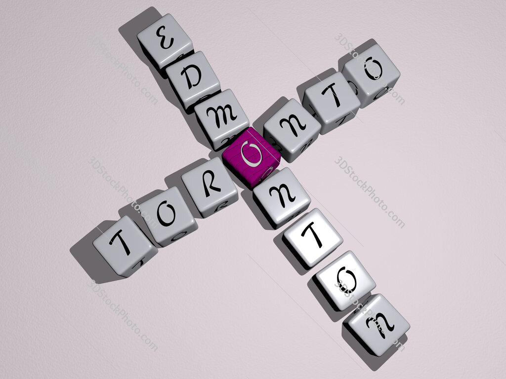 toronto edmonton crossword by cubic dice letters