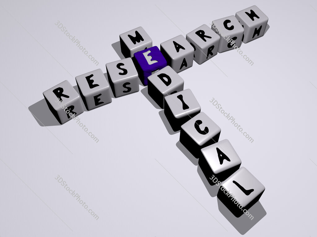 research medical crossword by cubic dice letters