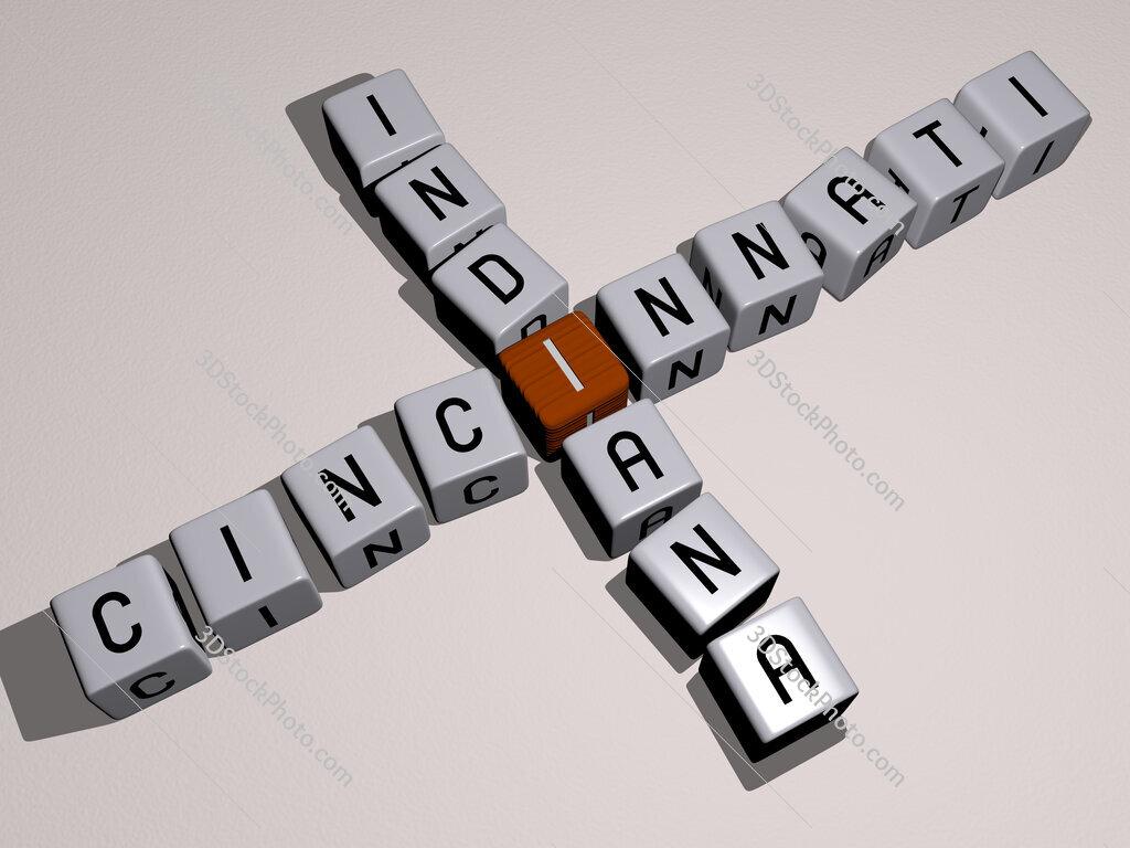 cincinnati indiana crossword by cubic dice letters
