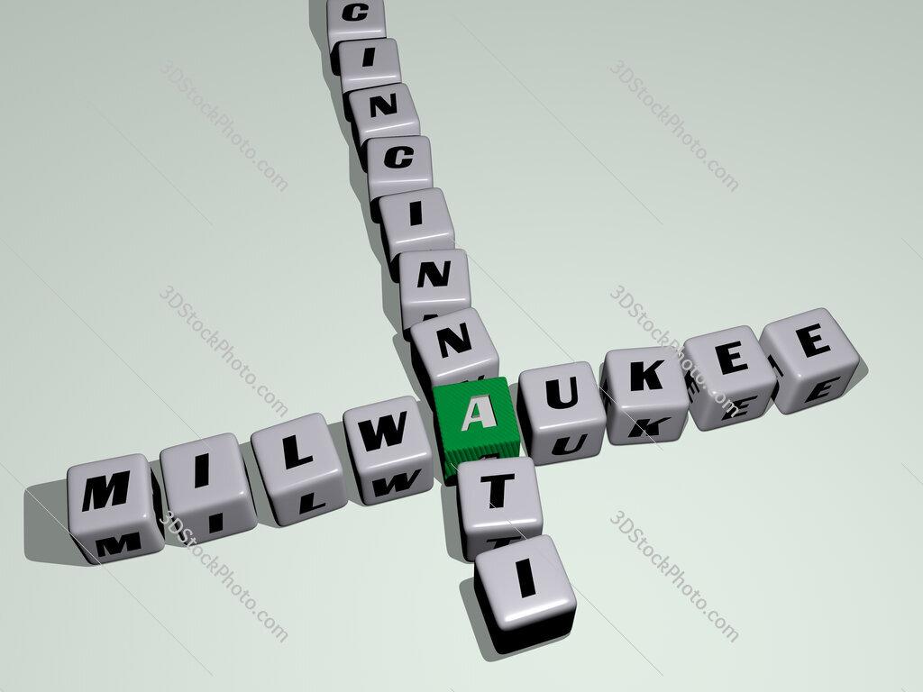 milwaukee cincinnati crossword by cubic dice letters