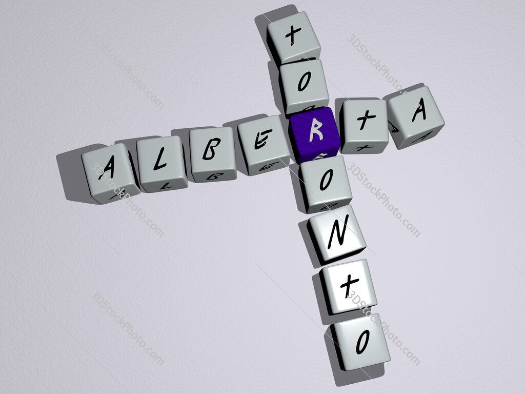 alberta toronto crossword by cubic dice letters