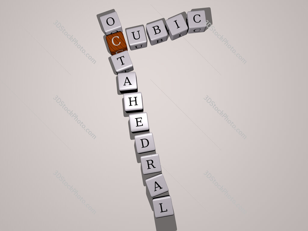 cubic octahedral crossword by cubic dice letters