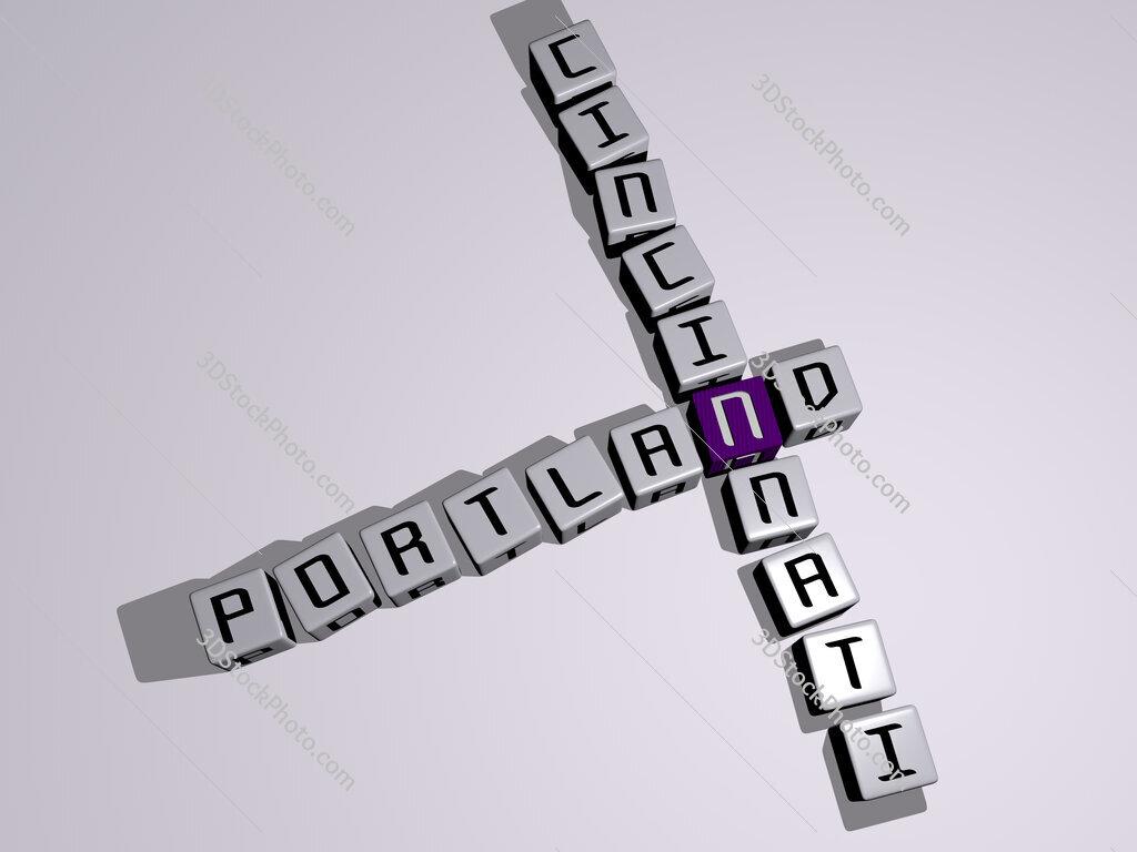 portland cincinnati crossword by cubic dice letters