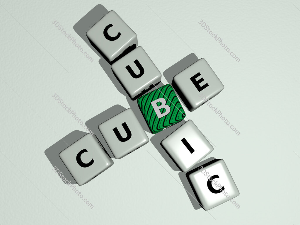 cube cubic crossword by cubic dice letters