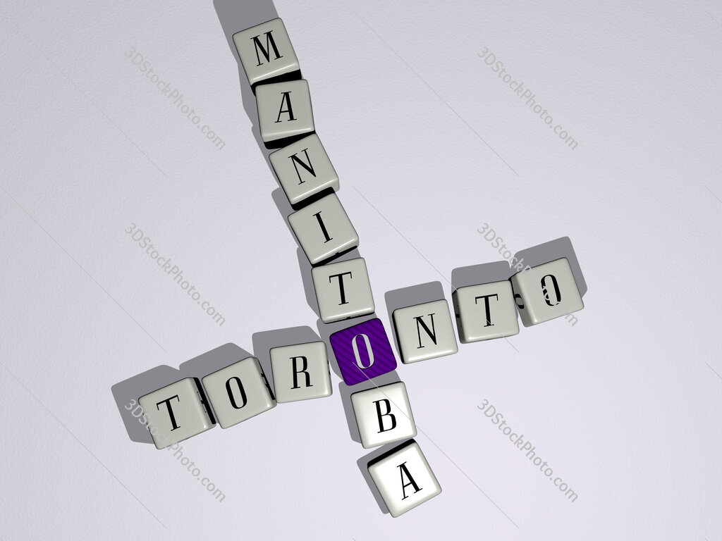 toronto manitoba crossword by cubic dice letters