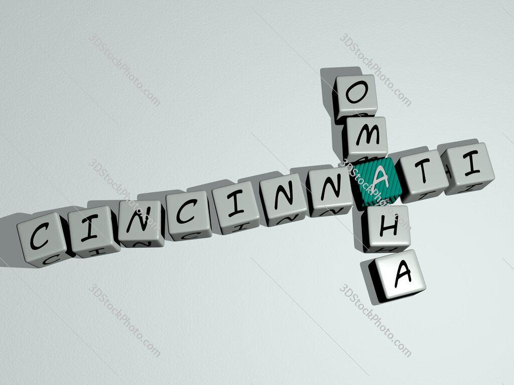 cincinnati omaha crossword by cubic dice letters