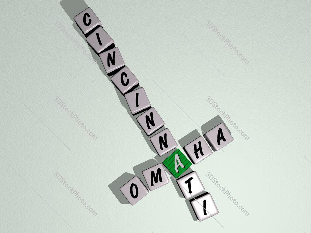 omaha cincinnati crossword by cubic dice letters