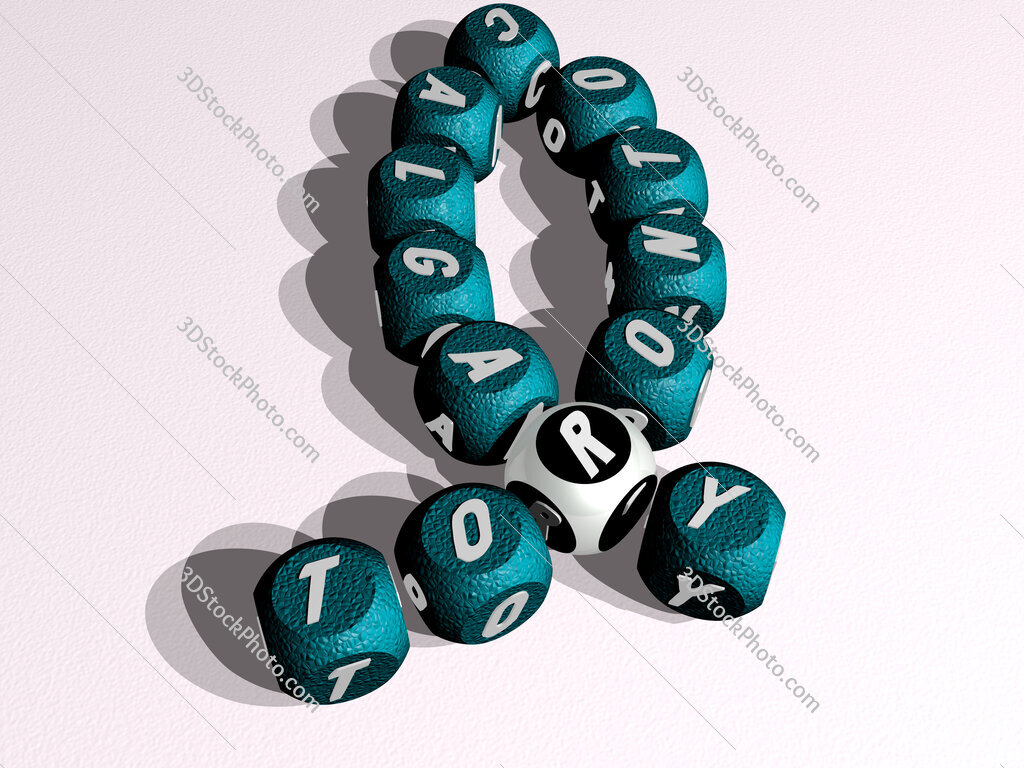 toronto calgary curved crossword of cubic dice letters