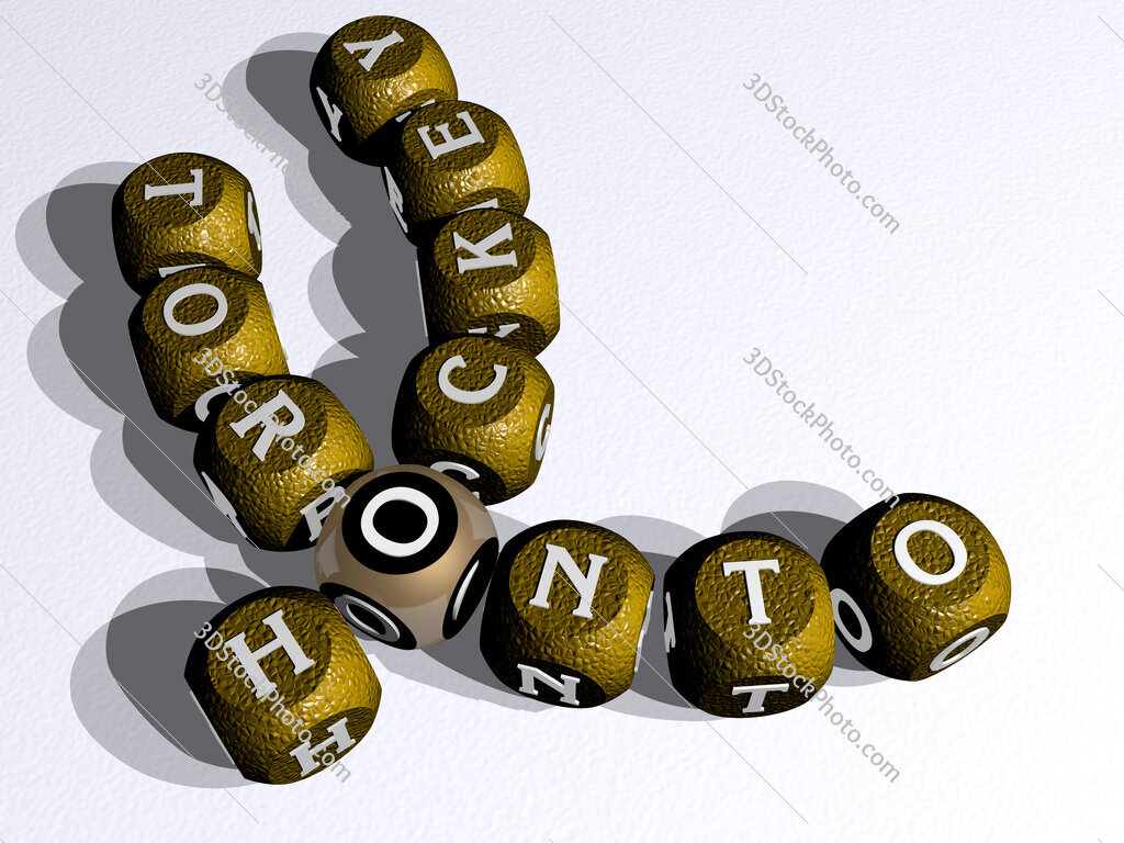 hockey toronto curved crossword of cubic dice letters