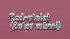 Red-violet (Color wheel)