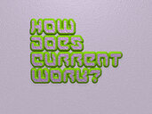 How does current work?