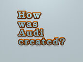 How was Audi created?