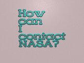 How can I contact NASA?