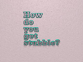 How do you get stubble?