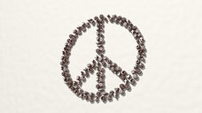 peace symbol made by religion signs
