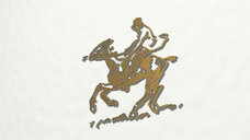 horse ridding drawing