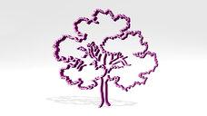 tree pencile drawing