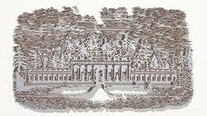 ancient mansion drawing