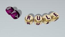 by rule