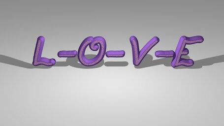 L-O-V-E
