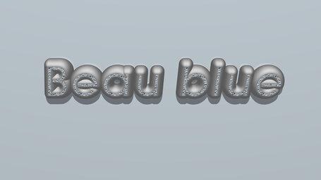 Beau blue