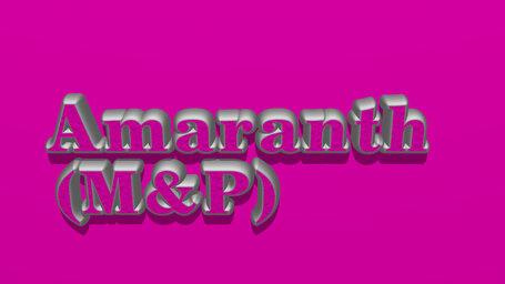 Amaranth (M&P)