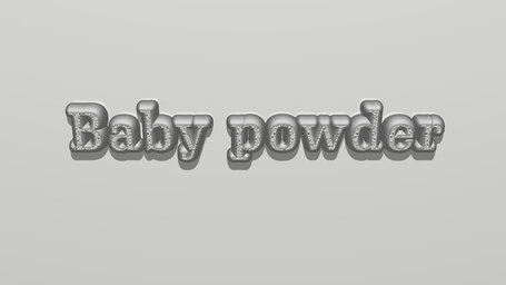 Is baby powder good for chafing?