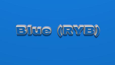 Blue (RYB)