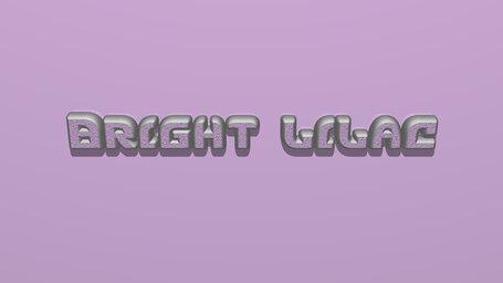 Bright lilac