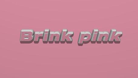 Brink pink