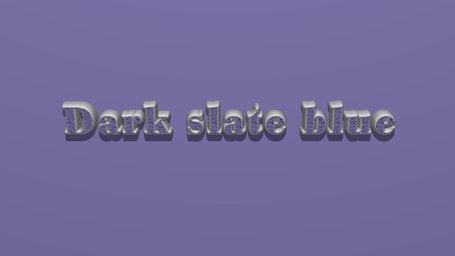 Dark slate blue