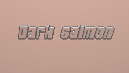 Dark salmon