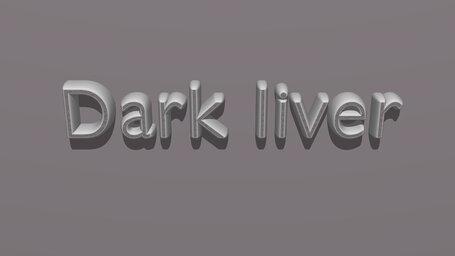Dark liver