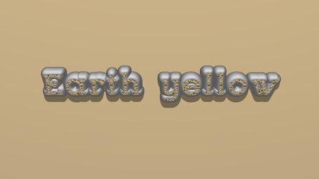 Earth yellow