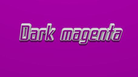 Dark magenta