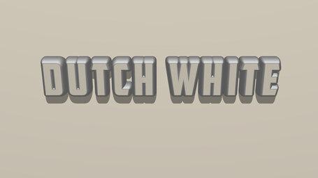 Dutch white