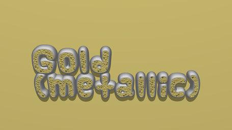 Gold (metallic)