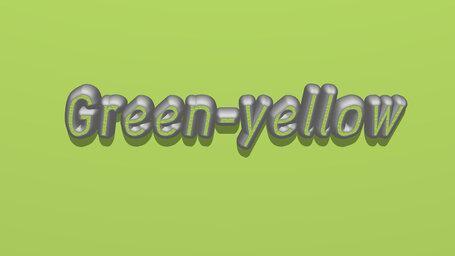 Green yellow