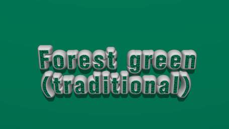 Forest green (traditional)