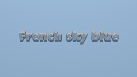 French sky blue