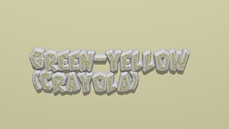Green yellow (Crayola)