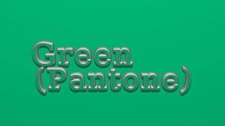 Green (Pantone)