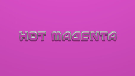 Hot magenta