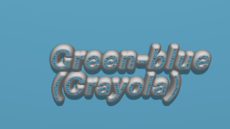 Green blue (Crayola)