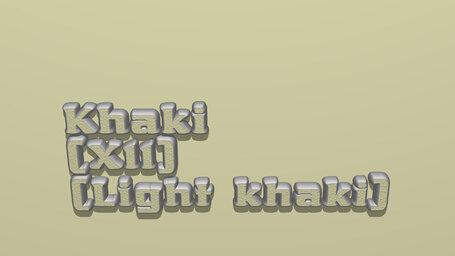 Khaki (X11) (Light khaki)